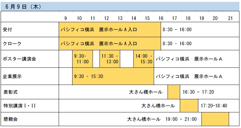 robomech2016 schedule draft